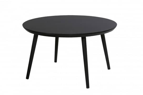 Aluminium Tisch Sophie Studio rund mit HPL Platte