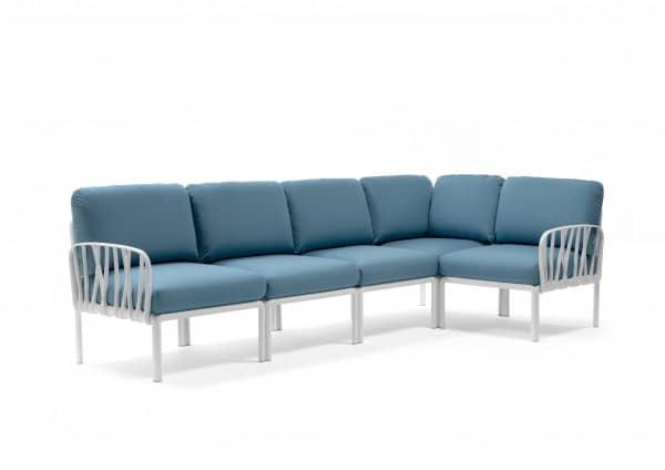 Lounge Komodo 5 mit Hocker und Tisch
