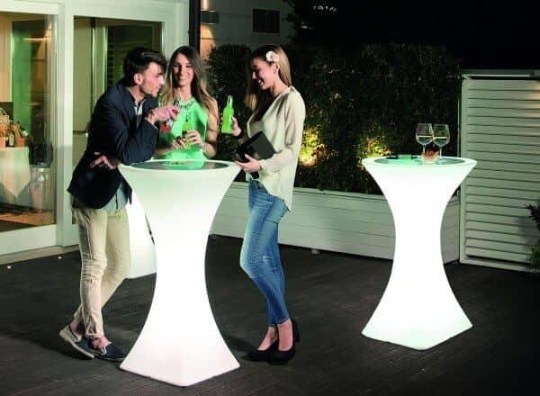 """Beleuchteter Stehtisch """"Brazil"""" italienisches Design: Gartenmode.de"""