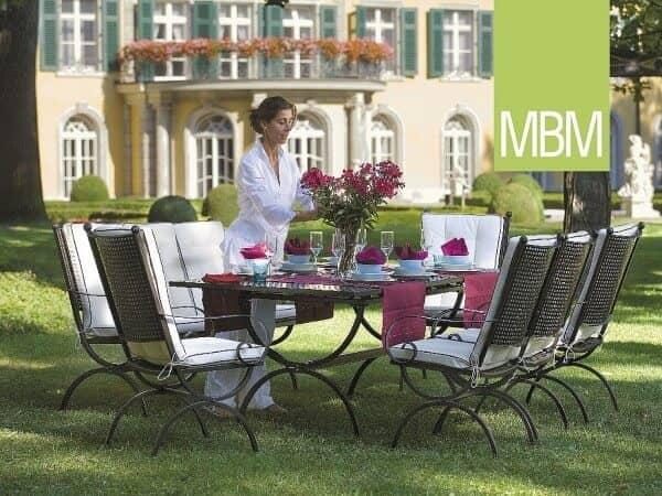 "MBM Schmiedeeisen Sitzgruppe Detail ""Romeo"" : gartenmode.de"